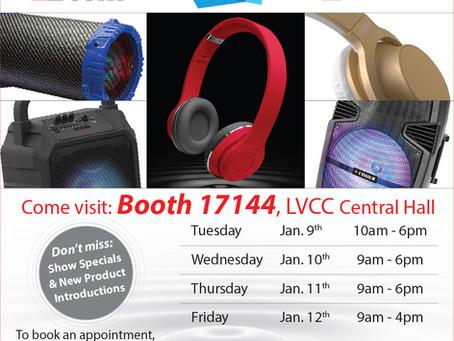 MIGEAR at CES Las Vegas Jan 9-12