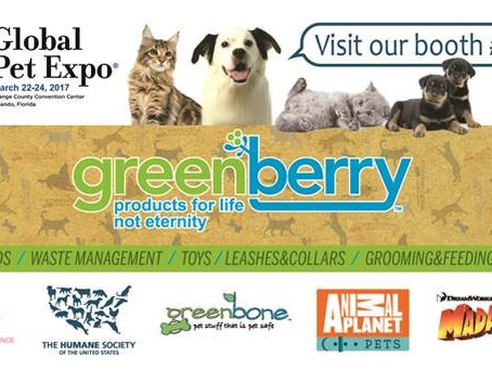 Greenberry at Global Pet Expo