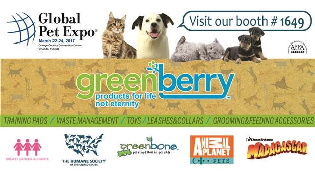 greenberry global pet expo