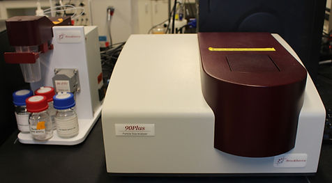Brookhaven NanoBrook 90Plus PALS particle sizer and zeta potential analyzer (with auto titrator)