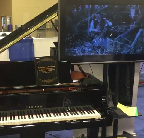 Yamaha Disklavier Player Piano
