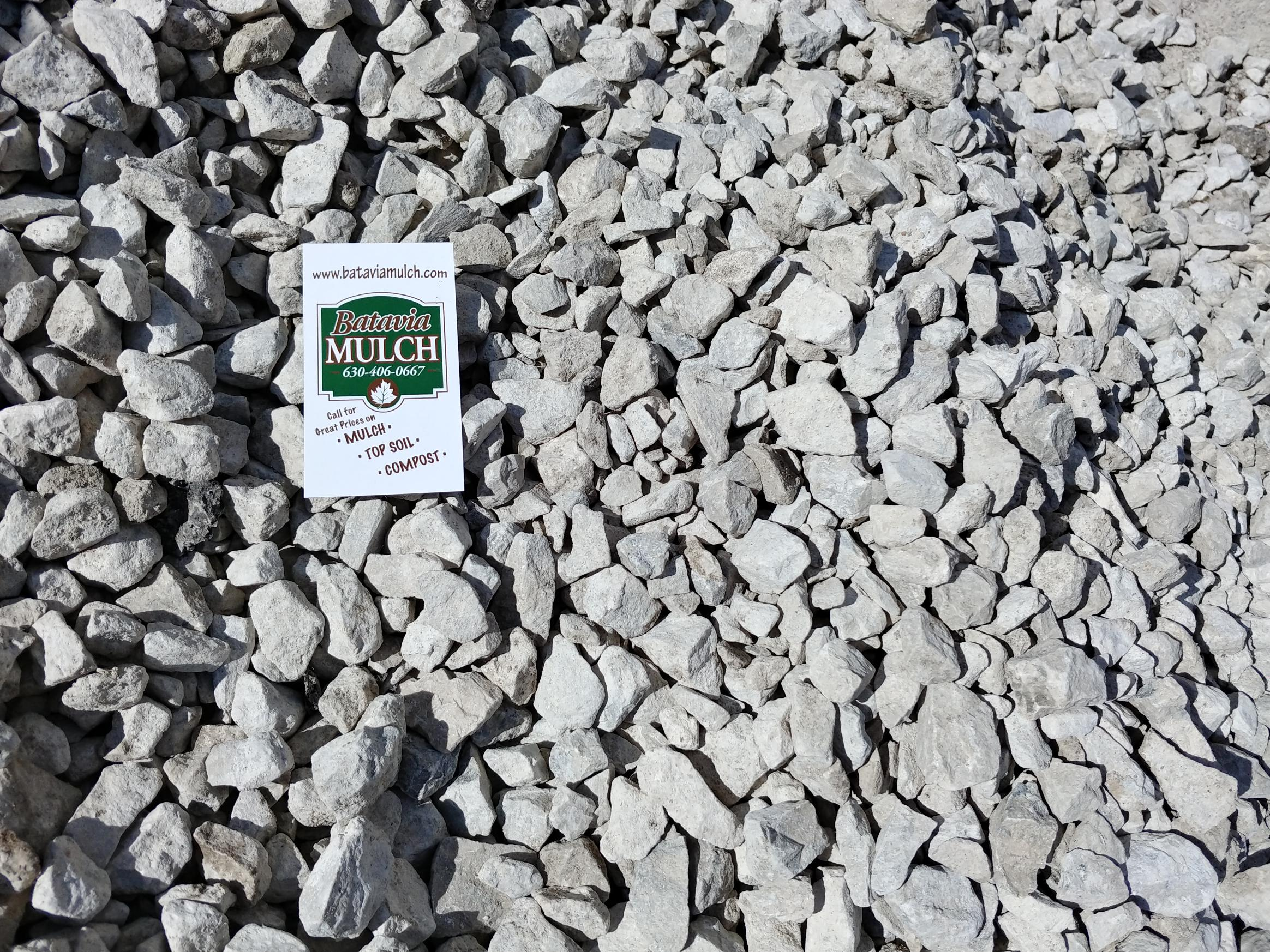 3/4 Chip Stone