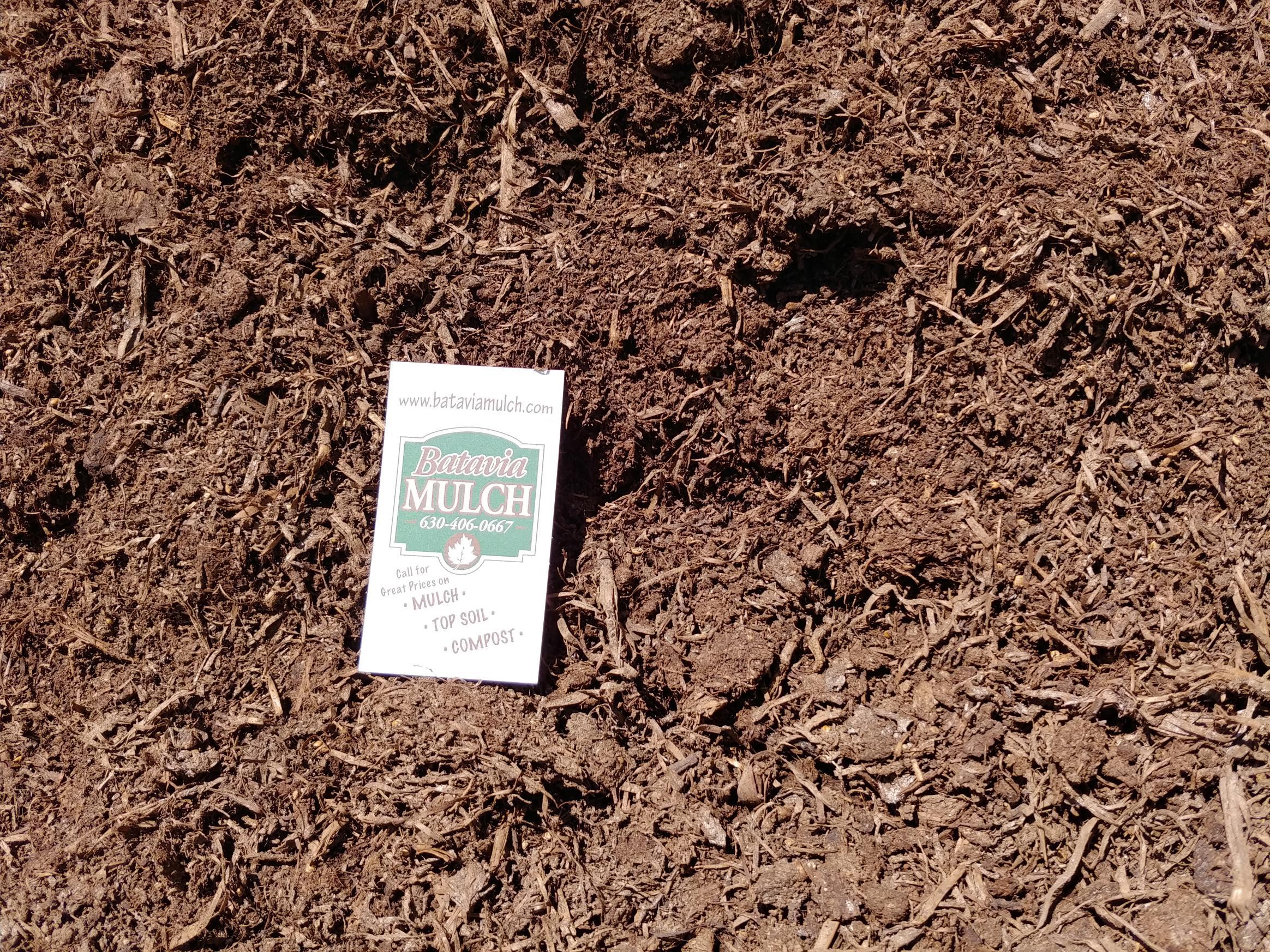 Screened Mushroom Compost