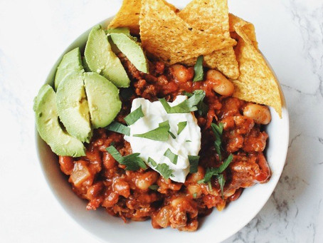 Classic & Hearty Slow Cooker Chili