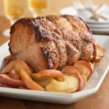 Saucy Apple Pork Roast
