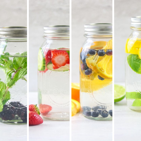 4 Fruit Infused Waters - The Natural Way