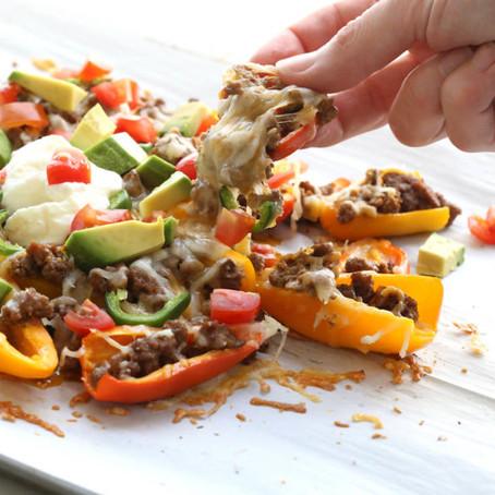 Easy Snacks - Mini Pepper Nacos