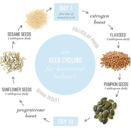 Seed Cycling : Hormonal Balance