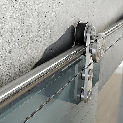 "Set of Wheels for Glass sliding Doors ""sincro"" Ø25mm"