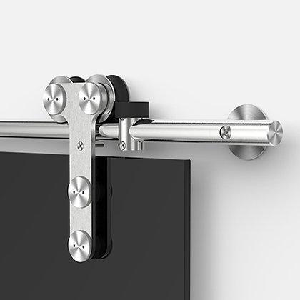 """Set for Glass Sliding Door System """"A5""""  Ø25MM"""