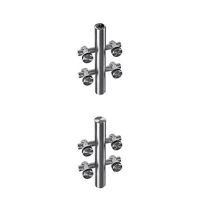 Upper andBottom Pivot set for Glass Doors