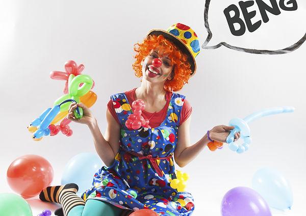 Atrakce pro děti, školky, školy, rodiče - oblíbený balónkový klaun