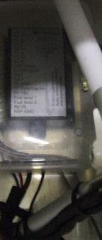 The RDAC unit that feeds the Enigma housed in a plastic food container