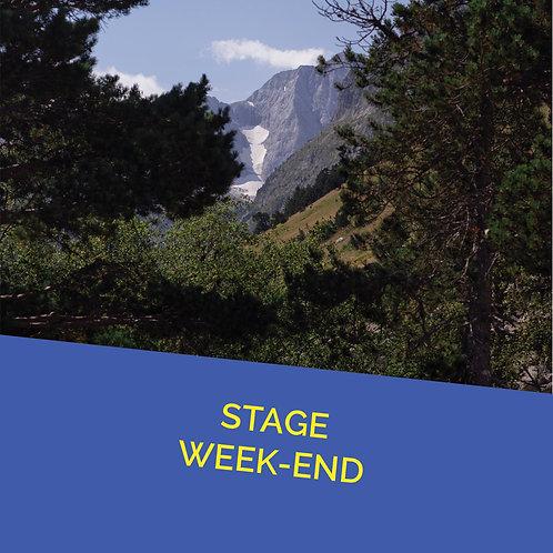 Pré inscription Stage Les 31 Juillet et 1 Août