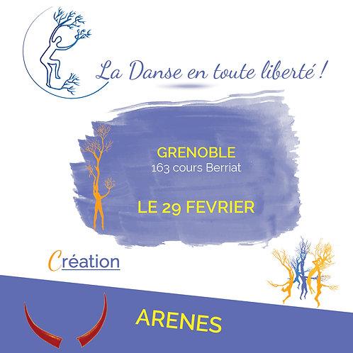 Inscription Arène le 29 Février 2020
