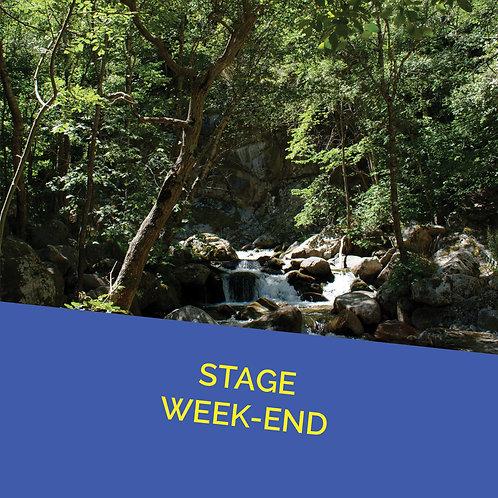 Pré inscription Stage Les 17 et 18 Juillet