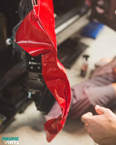 Subaru STI Vinyl Wrapped