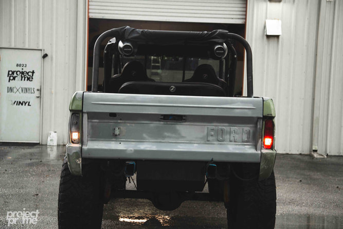 Ford Bronco Vinyl Wrapped