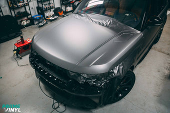 Range Rover Vinyl Wrapped