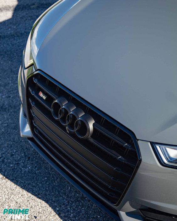 Audi S6 Vinyl Wrapped
