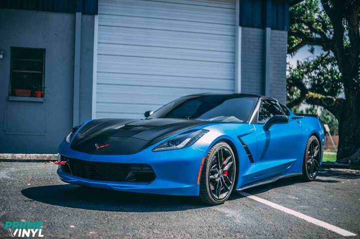 Chevy C7 Corvette Vinyl Wrapped