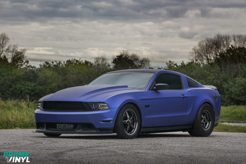 2012 Ford Mustang Vinyl Wrapped