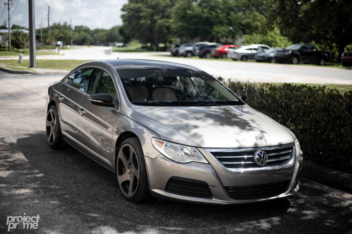 VW CC Widebody Vinyl Wrapped