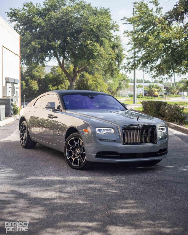 Rolls Royce Wraith Vinyl Wrapped