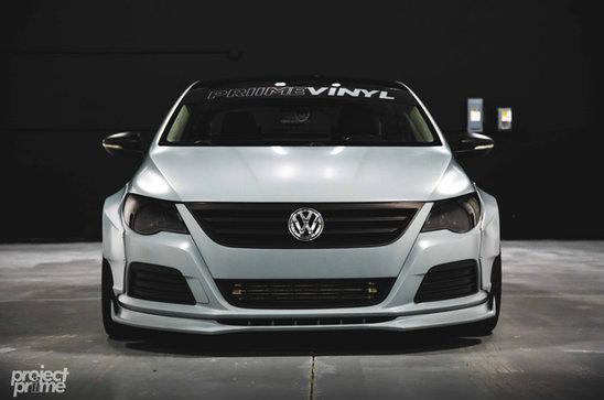 VW CC Widebody Vinyl Wrapped