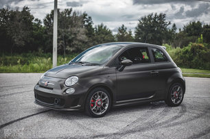 Fiat 500 Abarth Vinyl Wrapped