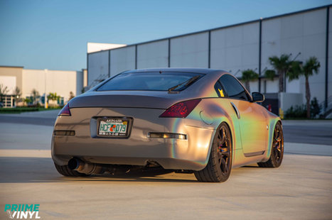 Nissan 350z Vinyl Wrapped