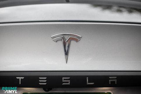 Tesla Model X Vinyl Wrapped