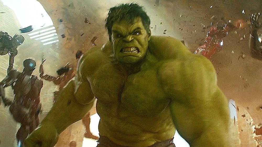 Hulk Smash in Escape Room