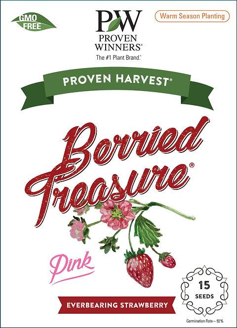 Berried Treasure Pink Strawberry Seeds