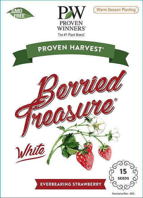 Berried Treasure White Strawberry Seeds