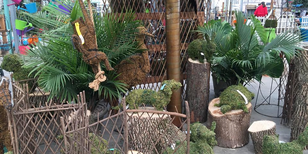 Champaign Animal Topiary Class