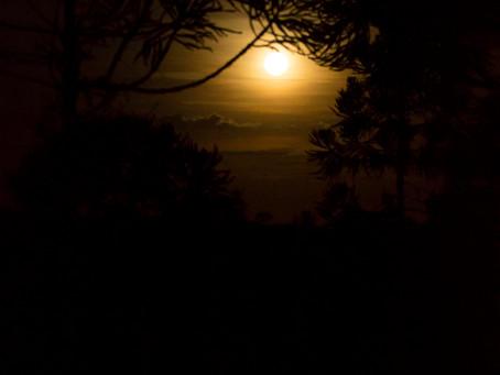 A lua natalina