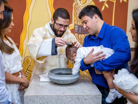 Batizado Carlos e Miguel