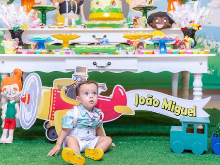Níver João Miguel 1 ano