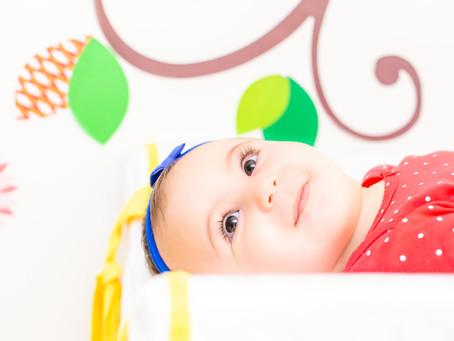Maria Eduarda - 6 meses