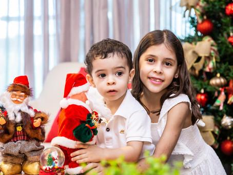 Carolina e Gustavo Natal 2020
