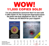 The Congruent Apprentice: 11,000 Sold