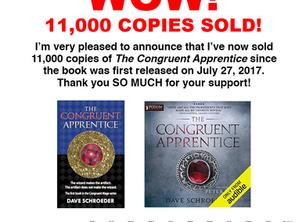 The Congruent Apprentice: 11,000 Sold