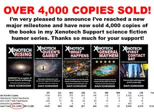 Over 4,000 Copies Sold