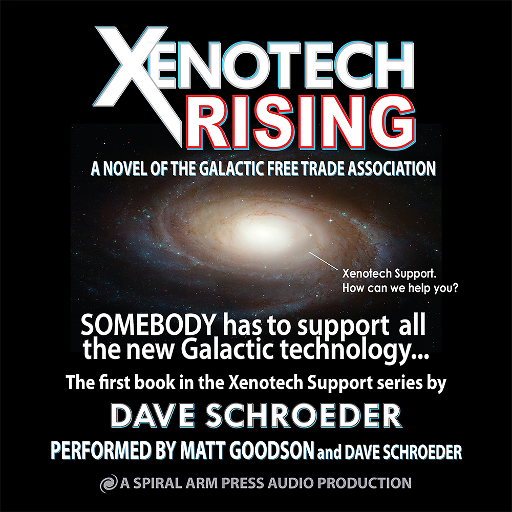 Xenotech Rising Audible Cover