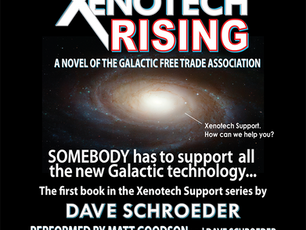 Xenotech Rising now on Audible!