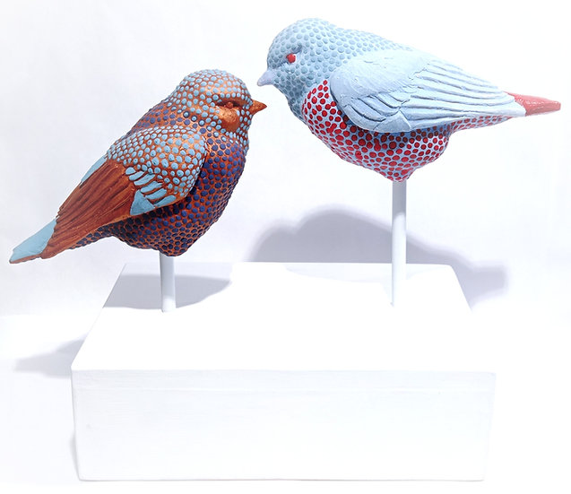 Sparrow couple