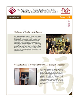 AFGA Newsletter issue 18 (Feb 2010)