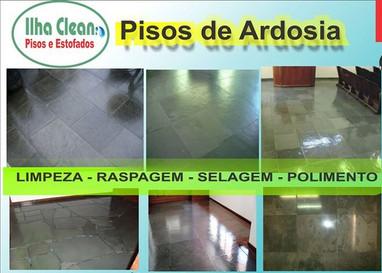 Piso de Ardosia Ilha Clean