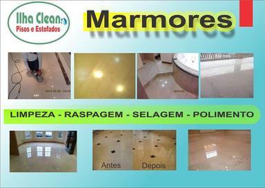 Piso de Marmore Ilha Clean